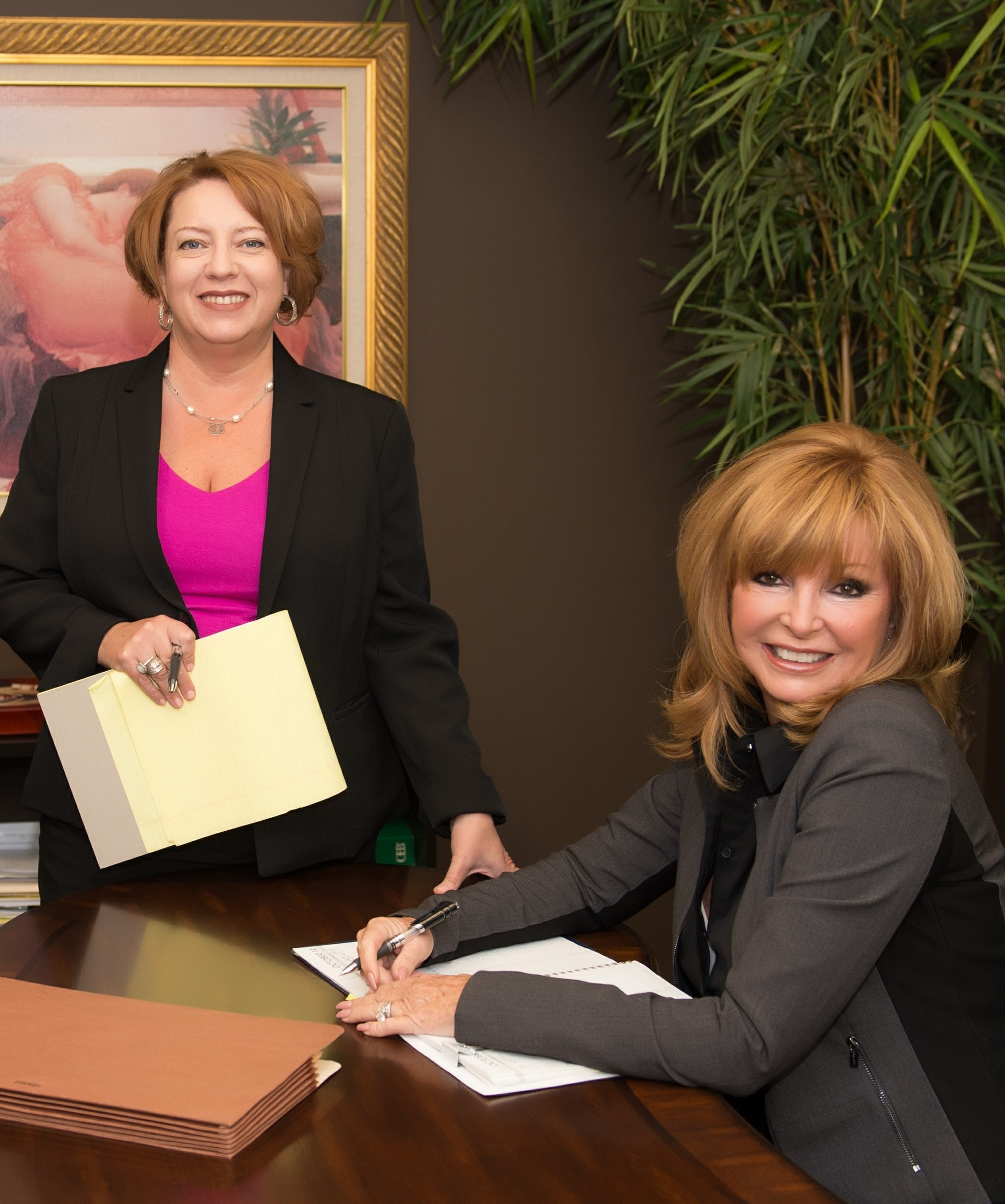 Attorneys Michelle Penna and Laurie Coker